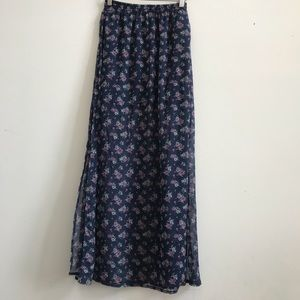 Abercrombie & Fitch Maxi Skirt Small